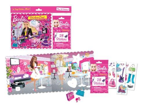 StickerZine Barbie Collectible Sticker Album