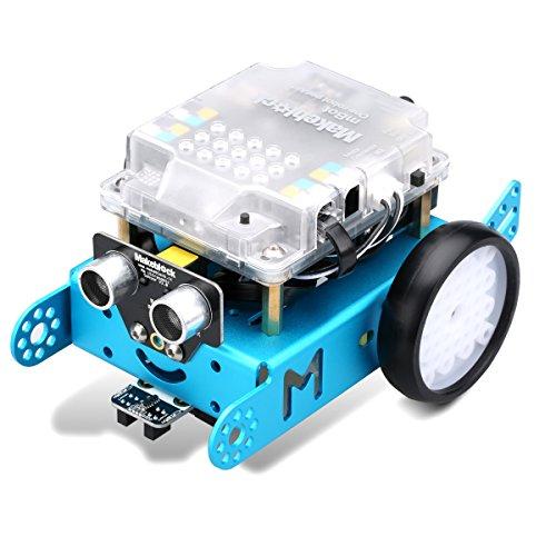 Makeblock MBot Upgraded Programming Educational Robot Kit Bluetooth Version DIY V11 Arduino Robot Kit C Graphical Blue