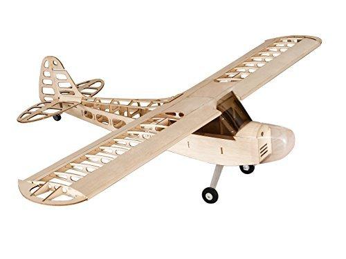 RC Airplane Balsa Wood Plane Wingspan 1180mm J3 Airplane Model Building Kit