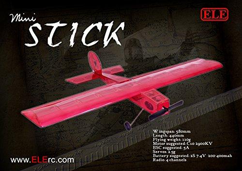 RC Airplane Balsawood Airplane Mini Stick Balsa Wood Model Airplane Building kit
