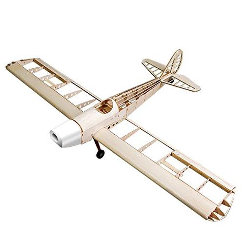 Space Walker 1230mm Wingspan Gas Electric Dual Power Balsa Wood Airplane KIT
