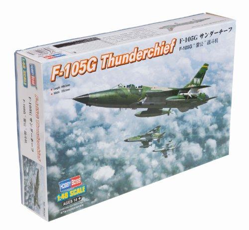 Hobby Boss F-105G Thunderchief Airplane Model Building Kit