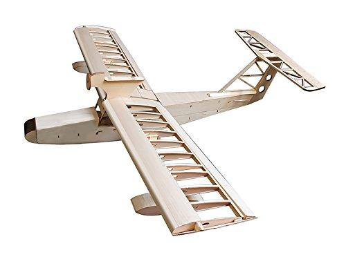 RC Airplane BalsaWood Plane 16m Seaplane--Miss New Orleans Balsa Wood Model Airplane Building Kit