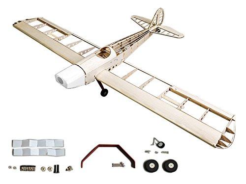 RC Airplane Balsawood Plane Space Walker Wingspan 1230 Laser Cut Balsa Wood Model Airplane Building Kit