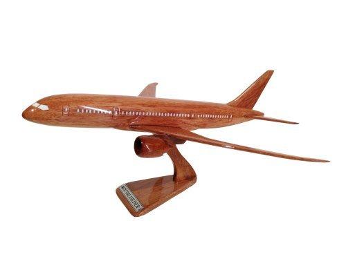 MocPro wooden Airplane model wooden airplane model Boeing 787 Dreamliner