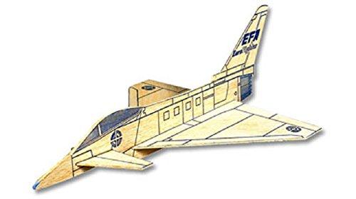 Eurofighter Typhoon West Wings Simple Profile Glider Balsa Wood Model Plane Kit WW420