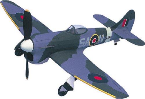 Hawker Tempest Mk V West WingsRubber Powered Balsa Wood Model Plane Kit WW504