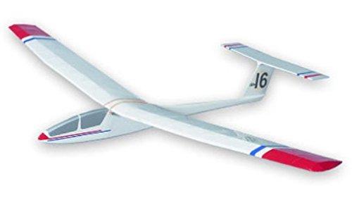 Kestrel West Wings Simple T-Tailed Glider Balsa Wood Model Plane Kit WW16