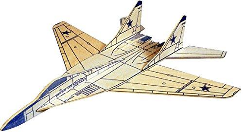 MIG 29 Fulcrum West Wings Simple Profile Glider Balsa Wood Model Plane Kit WW421