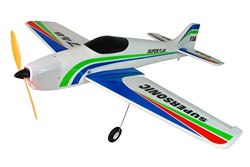 Amazing Tech Depot F3A Radio Control Aerobatics RTF EP FM 4CH Brushed RC Sport Airplane 355 Wingspan Trainer EPS Plane Supersonic 746
