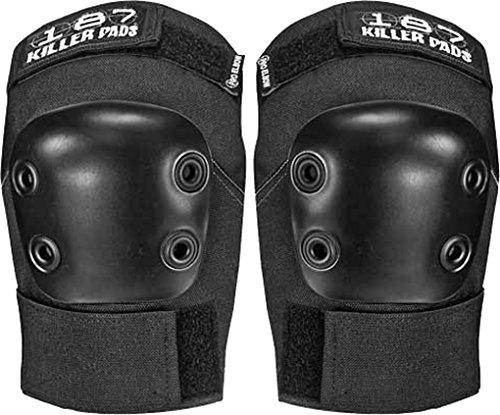 187 Pro Black Medium Elbow Pads