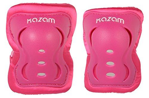 KaZAM Childrens Multi-Sport Knee and Elbow Pad Set Pink