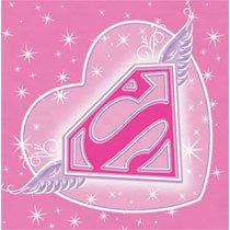 SuperGirl Dessert Napkins