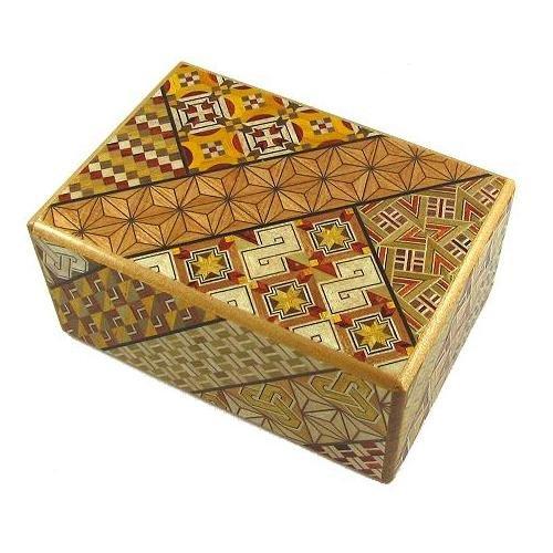 4 Sun 21 Steps - Japanese Puzzle Box
