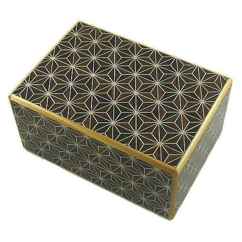4 Sun 21 Steps Kuroasa - Japanese Puzzle Box