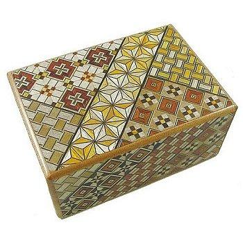 4 Sun 10 Steps Japanese Puzzle Box