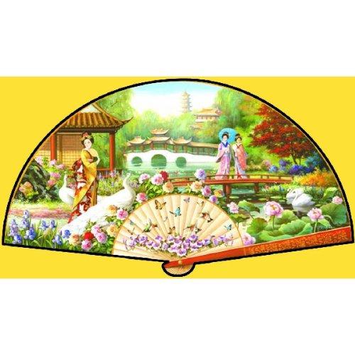 Japanese Garden a 1000-Piece Jigsaw Puzzle by Sunsout Inc