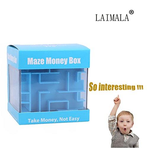 LAIMALA Money Maze Puzzle Box Amazing Puzzle Box -Inexpensive Game Challenge for Kids