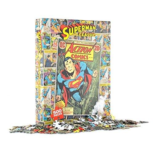 Superman Comic Cover Jigsaw Puzzle 500 Pieces