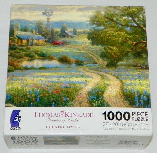 Thomas Kinkade Painter of Light Country Living 1000 Piece Puzzle