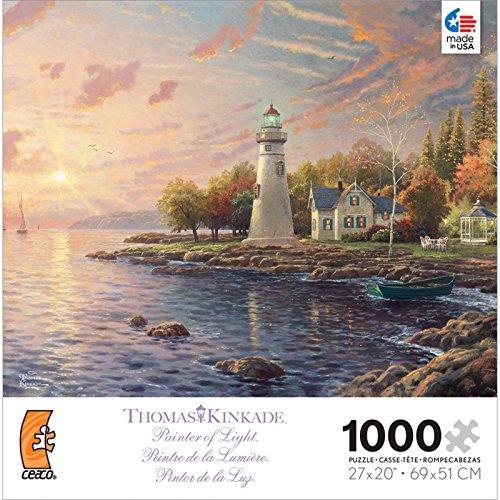 Thomas Kinkade Painter of Light Puzzle-The Light of Peace 1000pc