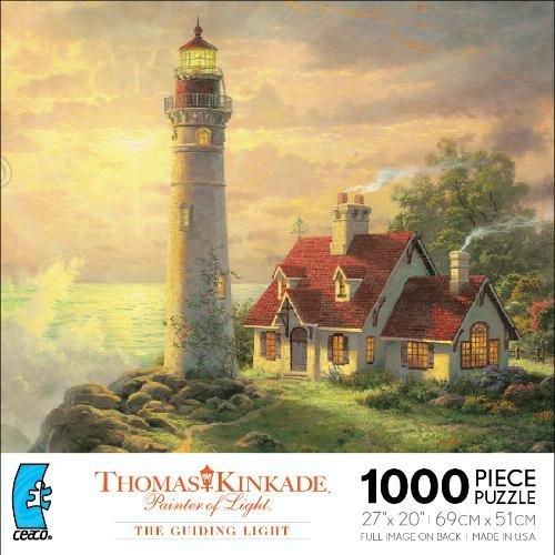Thomas Kinkade Painter of Light The Guiding Light 1000 Piece Puzzle