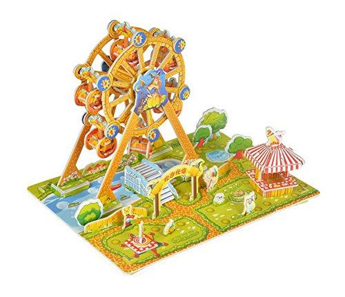 Ferris Wheel 3D Puzzle Educational Toy DIY Assembled Jigsaws Parent-child Games