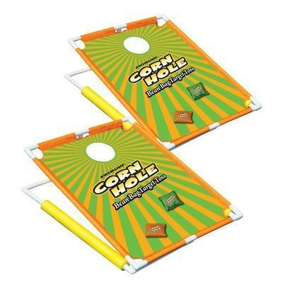 Swimline Floating Cornhole Bean Bag Target Toss Set of 2