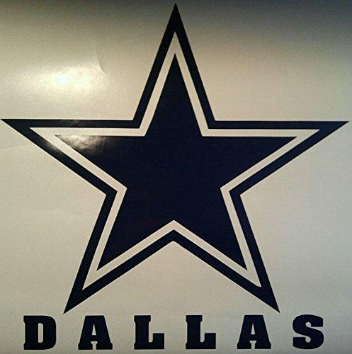 Dallas Cowboys Cornhole Decals - 2 Cornhole Decals