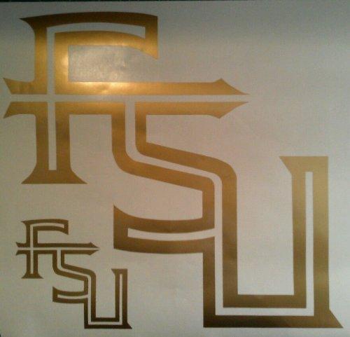 Florida State University Cornhole Decals - 2 Cornhole Decals