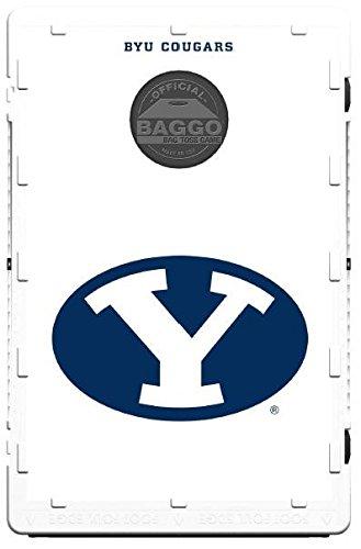 BYU Brigham Young Cougars Baggo Bean Bag Toss Portable Cornhole Game