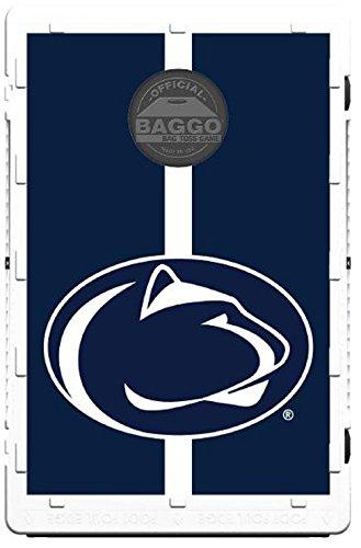 Baggo Collegiate Penn State Nittany Lions Bean Bag Toss Portable Cornhole Game