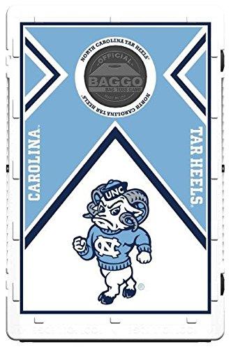North Carolina Tar Heels Vintage Baggo Bean Bag Toss Portable Cornhole Game