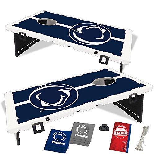 Penn State Nittany Lions Fanatic Baggo Bean Bag Toss Portable Cornhole Game
