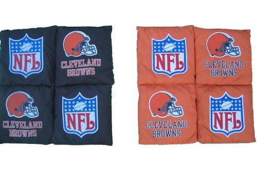 NFL Cleveland Browns Tailgate Toss Bean Bag Set