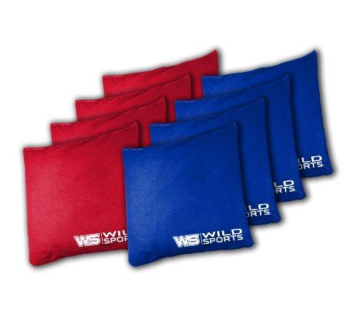The Original Tailgate Toss Bean Bag Set Red Blue