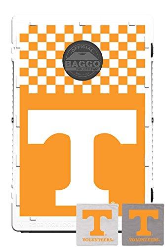 Tennessee Volunteers Fanatic Baggo Bean Bag Toss Portable Cornhole Tailgate Game with Lifetime Warranty
