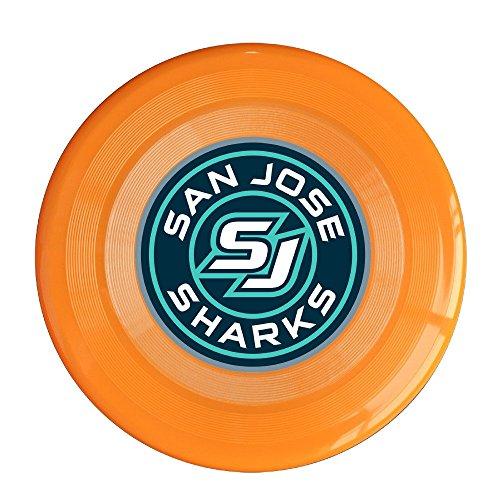 XJBD Unisex Sharks Roundel Logo Outdoor Game Sport Flying DiscsGame Room Light Up Flying Sport Disc Flyer FrisbeeUltra Star Orange One Size