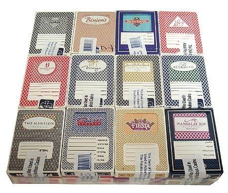 24 Decks Used Las Vegas Nevada Casino Playing Cards
