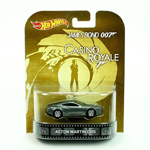 Hot Wheels James Bond 007 Casino Royale Aston Martin DBS Silver