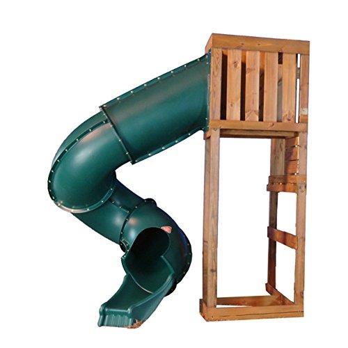 Swing-n-Slide 7 Turbo Slide Swing Set Slide Forest Green