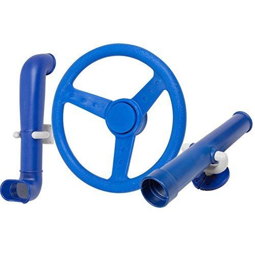 Periscope Telescope Steering Wheel Kit Swing set toys Blue