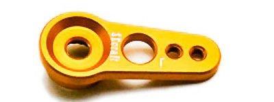 Secraft Aluminum Servo Arm V1 15mm JR Gold