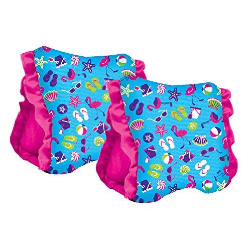 Aqua Leisure Girls Swim School 2 Fabric Arm Floats Large