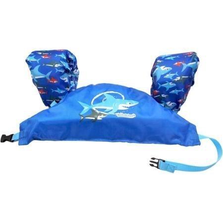 SwimSchool WMO10029B Level 3 Aqua Tot Swimmer Boys Blue Vest and Arm Floats Children 30-55 lb MediumLarge