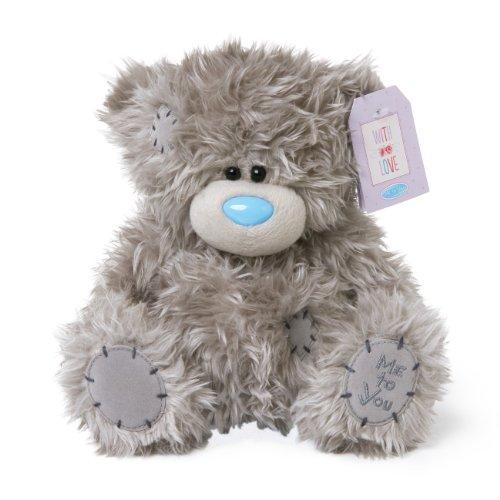 Me to You Tatty Teddy Plain Grey Teddy Bear  Sits 7 Tall
