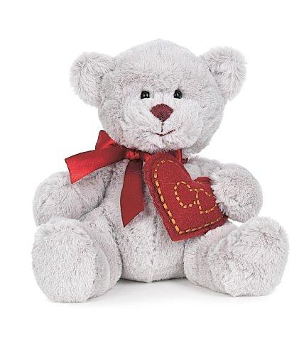 Teddykompaniet Elvin the Grey Teddybear 10 2662