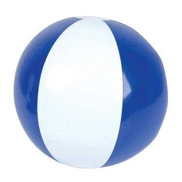 16 Beach Balls ~ One Dozen Blue White Beach ball inflates ~ PATRIOTIC BEACHBALLS ~ Pool Decor beach Favor Water Play Fun outdoor Birthday Fourth of July party