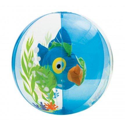 Aquarium 3D Beach Ball - Blue
