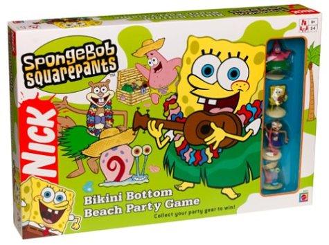 SpongeBob Square Pants Bikini Bottom Beach Party Game